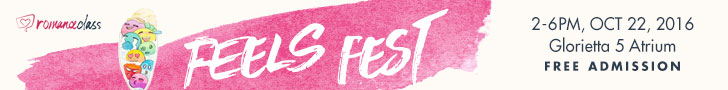 Feels Fest 2016 October 22 #RomanceClass