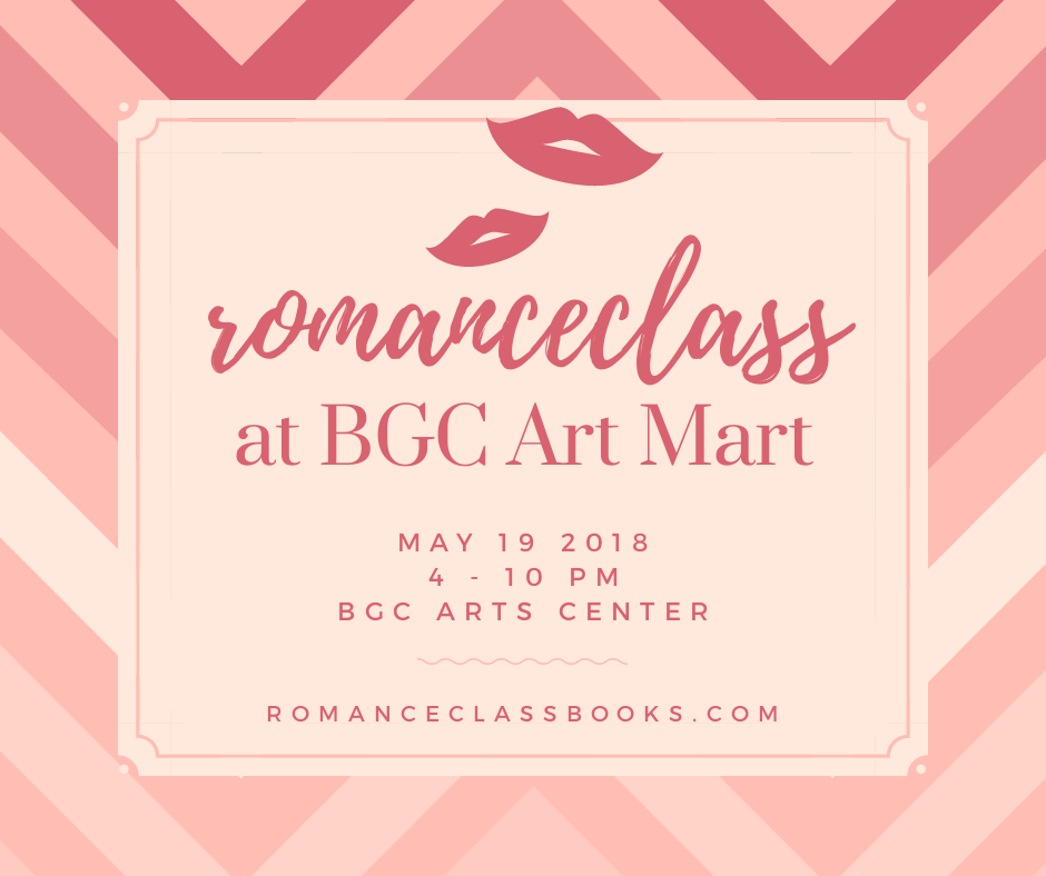 #RomanceClass @ BGC Art Mart, 19 May 2018
