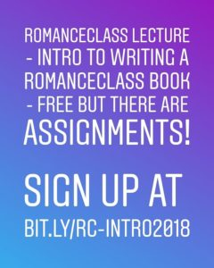Intro to #RomanceClass 2018